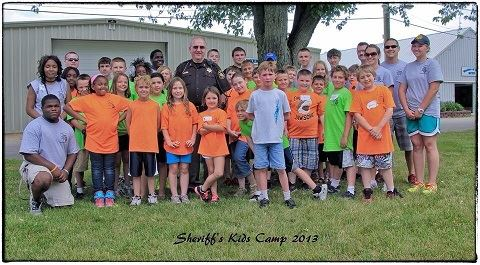 Sheriff Kids Camp 2013