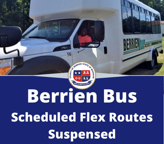 Berrien County Schedule Flex Route Suspended
