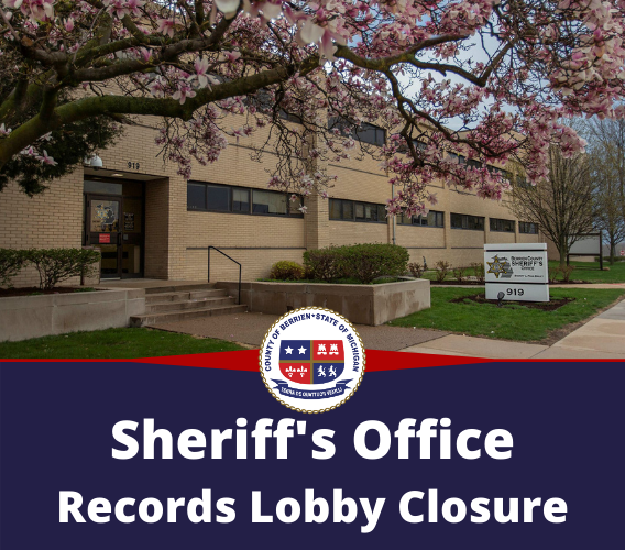 Sheriff's Office Records Lobby Closure
