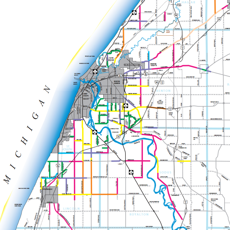 Berrien County Speed Limits Map (PDF)